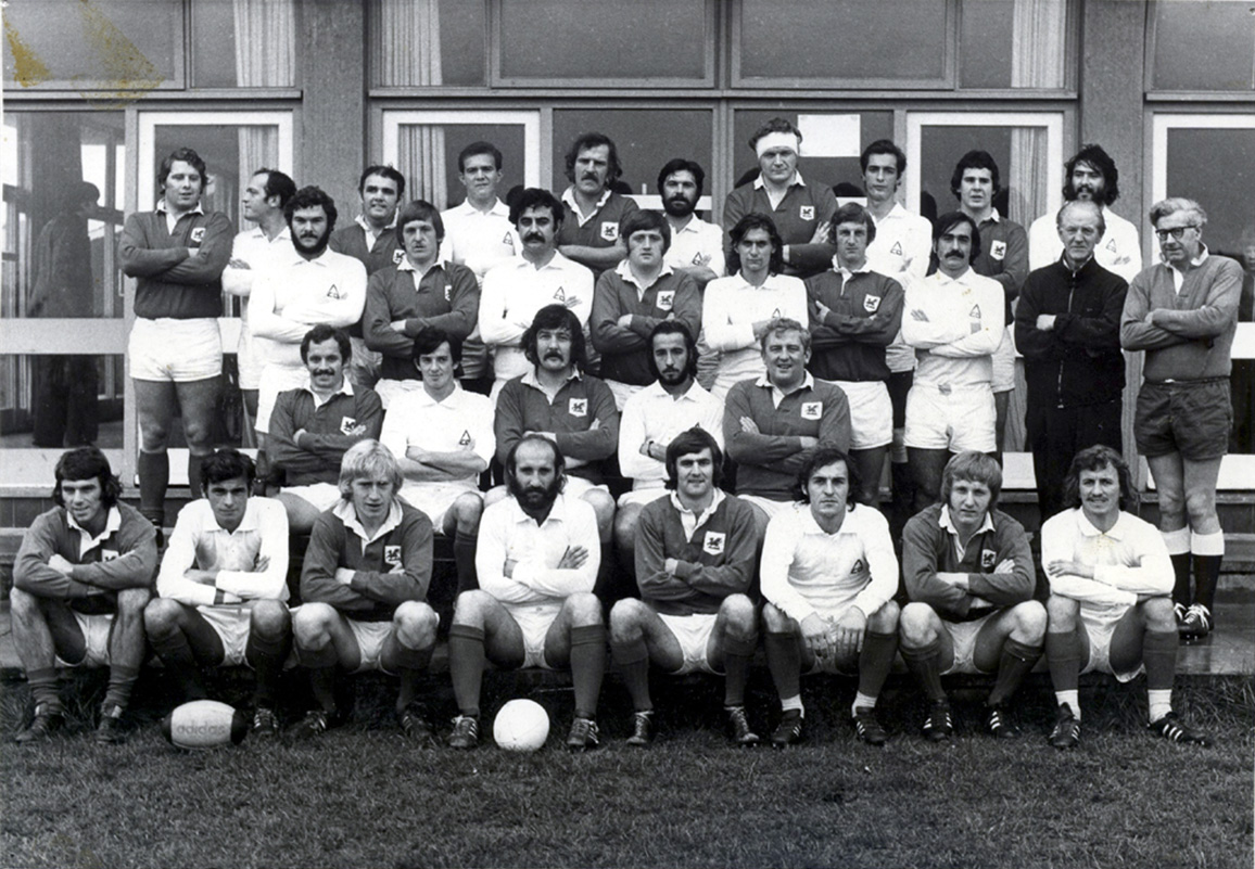Arquitectura vs London Welsh. 1975