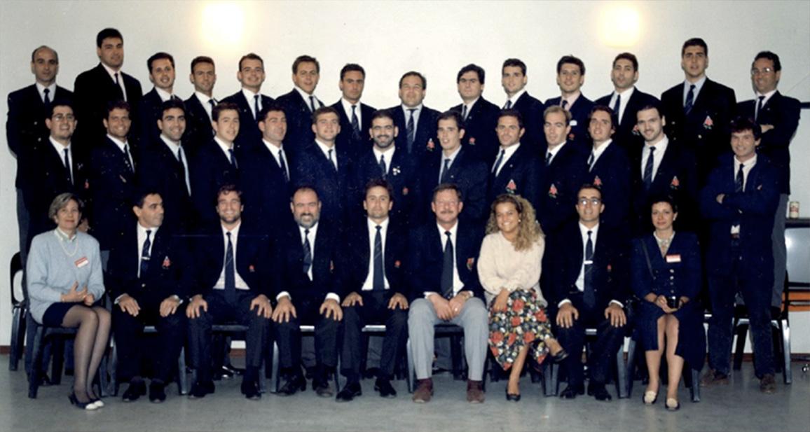 Equipo de la segunda gira a Suráfrica en 1993 que quedaría campeón de División de Honor dos temporadas más tarde.